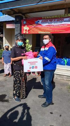 pelaksanakan program bakti sosial berbagi Paket Sembako yang bertajuk
