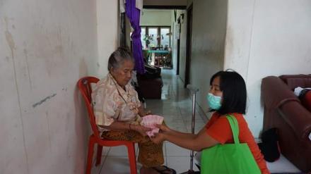 Penyaluran Bantuan Langsung Tunai (BLT) Tahap II