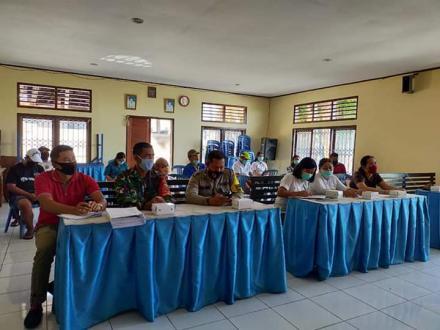 Tim Penyusun RPJMDesa 2019-2025 Desa Bengkala melaksanakan Pra-Lokakarya Penyusunan Perancangan RPJM