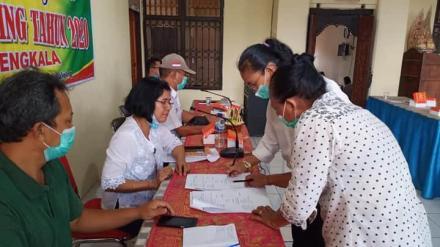 Dokumentasi Kegiatan Rembuk Stunting Tahun 2020 Desa Bengkala