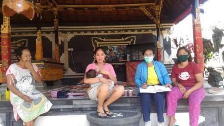 Kunjungan Rumah oleh Bidan Desa