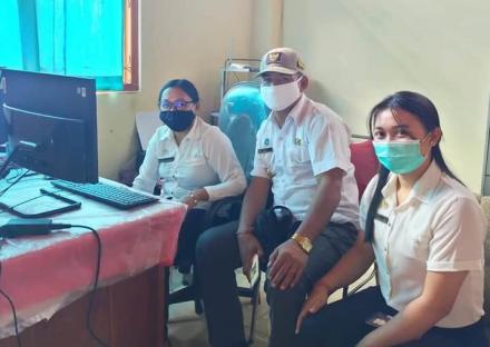 Video Conference Sosialisasi Rekonsiliasi Sisa Dana Desa