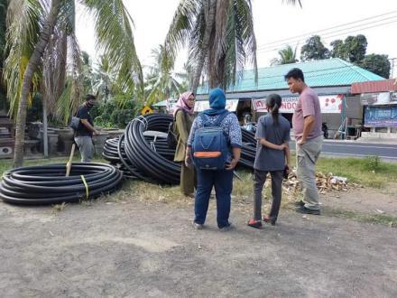 Tim Pamsimas Kabupaten Buleleng melakukan monev