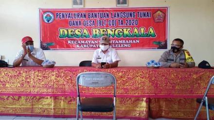 Penyaluran Bantuan Langsung Tunai Dana Desa Tahap kedua (bulan ke-4)