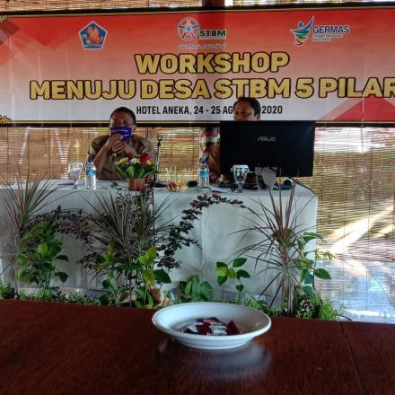 Hari Pertama Workshop menuju Desa STBM 5 pilar