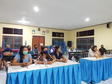 Rapat koordinasi pemasangan jaringan pipa (HID) TA 2020