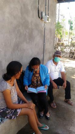 Kunjungan Ke Rumah Ibu HamiL Oleh Bidan Desa