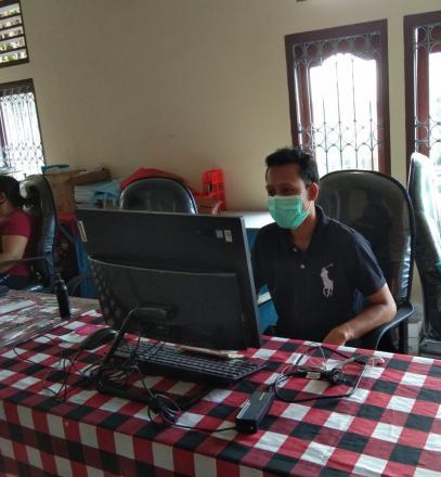 Video Conference Program Dukcapil Kabupaten Buleleng