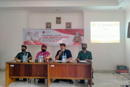 Penyamaan persepsi terkait proses Laporan Swadaya Murni masyarakat dan tugas pokok fungsi LPM