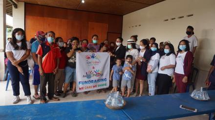 Bakti Sosial oleh  Sekolah Anak Pelangi/Rainbow Kids School, Jimbaran-Bali
