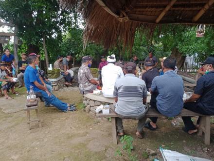 koordinasi saresehan Kepala Desa dan Kelian Adat