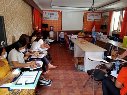 Bidan Desa Bengkala hadiri Rapat PWS