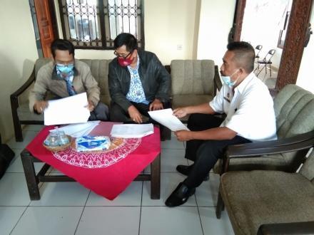 kunjungan Dinas Badan Penelitian dan Pengembangan Kabupaten Buleleng di Kantor Perbekel Bengkala
