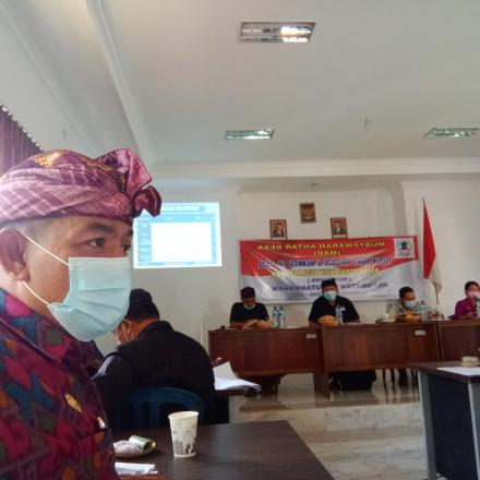 Perbekel Bengkala hadiri Rapat MAD Tutup buku bumdesma Kecamatan Kubutambahan