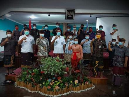 Rapat Koordinasi dari Badan Narkotika Nasional Kabupaten Buleleng