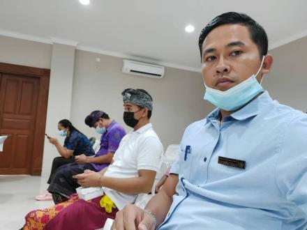 Kasi Kesra Bengkala Hadiri Sosialisasi dan Evaluasi Pemanfaatan Aplikasi Edabu KP Desa