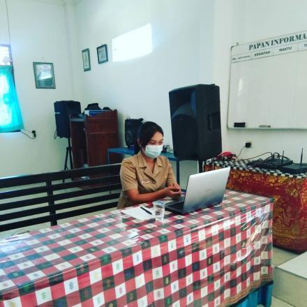 Vidio Conference Optimalisasi Sistem Informasi Desa Dalam Masa Pandemi Covid-19