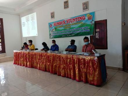Rembuk stunting untuk mendukung dalam menangani Percepatan Pencegahan Anak Stunting di Desa