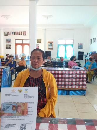 Penyalurkan Bantuan Sosial Tunai (BST) Pusat Tahap XIV Dan Tahap XV