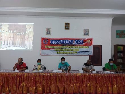 Musyawarah Desa Penyusunan RKPDesa Tahun Anggaran 2022 Desa Bengkala